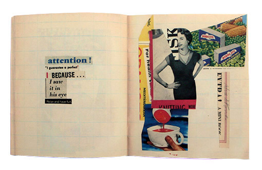 Antic-Ham, artist books, screen prints, collage, drawing and